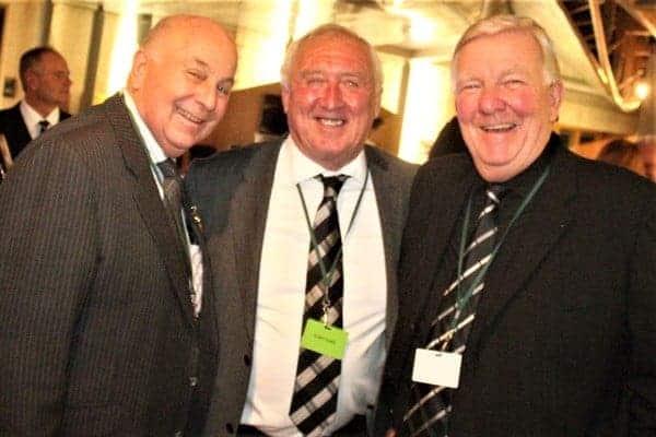 David Wallis with Lawrence Bishton & Colin Pawley