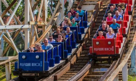 Grand National ride at Blackpool Pleasure Beach