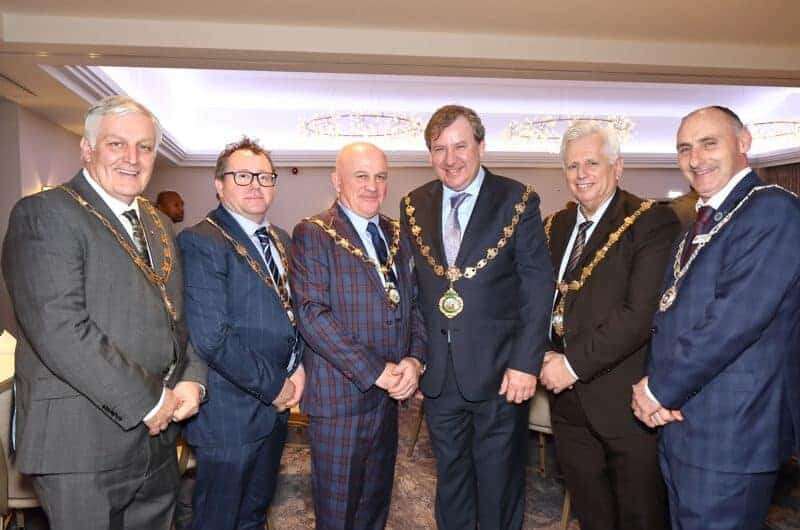 COMMONS SPEAKER AT LANCASHIRE SECTION LUNCHEON