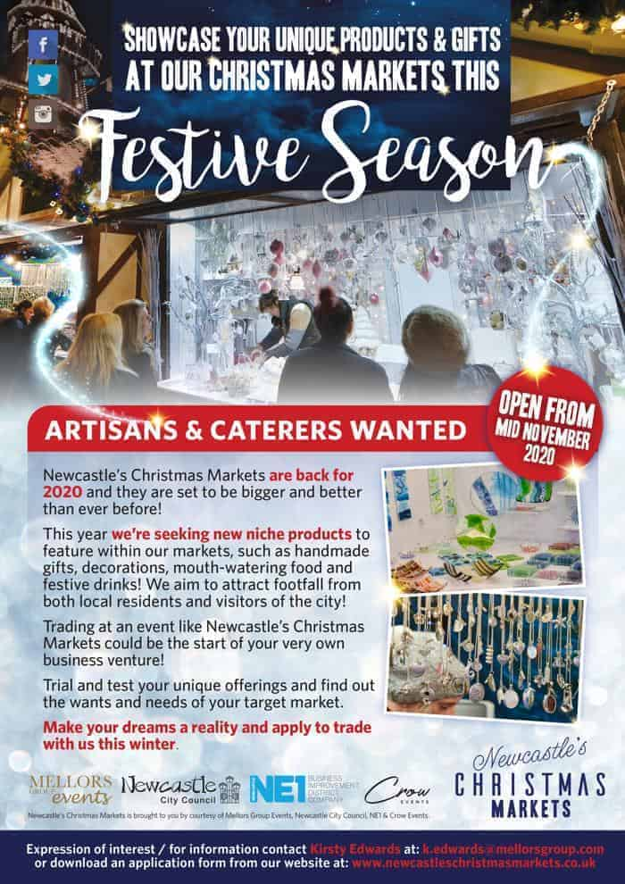 Artisans & Caterers Wanted, Newcastle