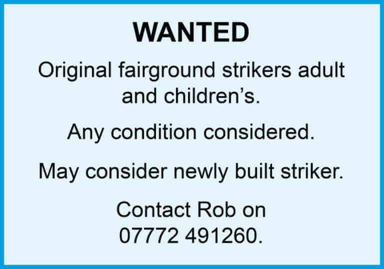 Strikers Wanted
