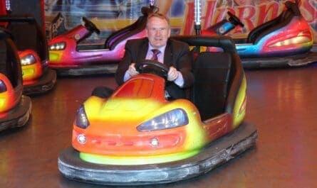 Richard Lyle MSP at Kirkcaldy Links Market
