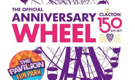 Clacton Pavilion 150 Anniversary graphic