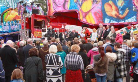 photo of Hull Fair opening 2016
