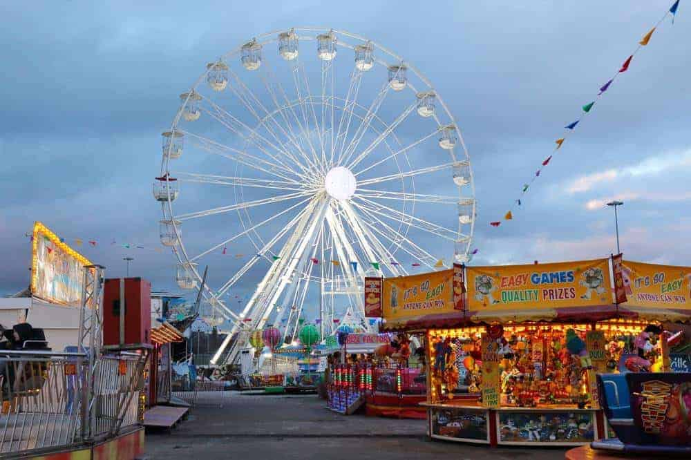 Fairground photo