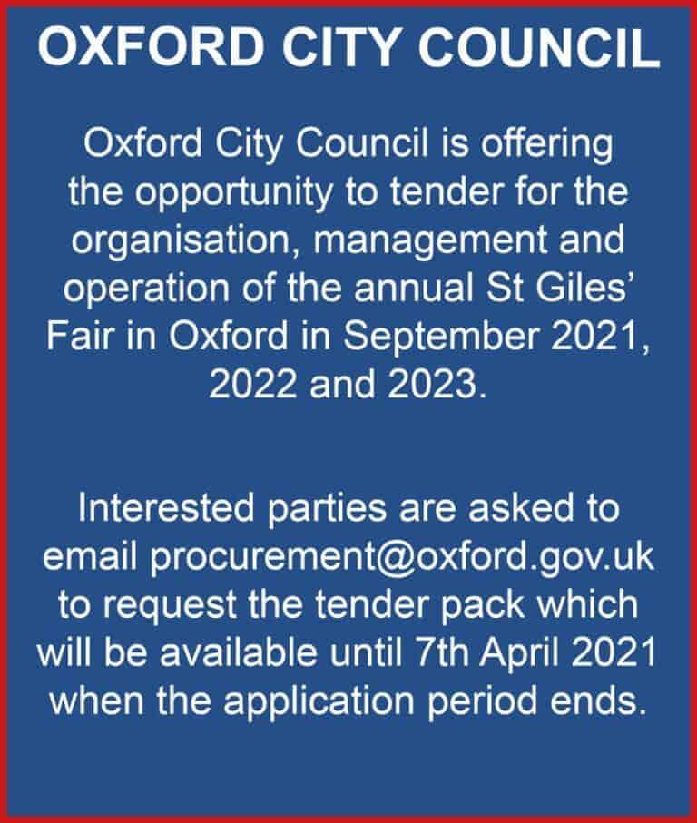 St Giles Fair 2021-23