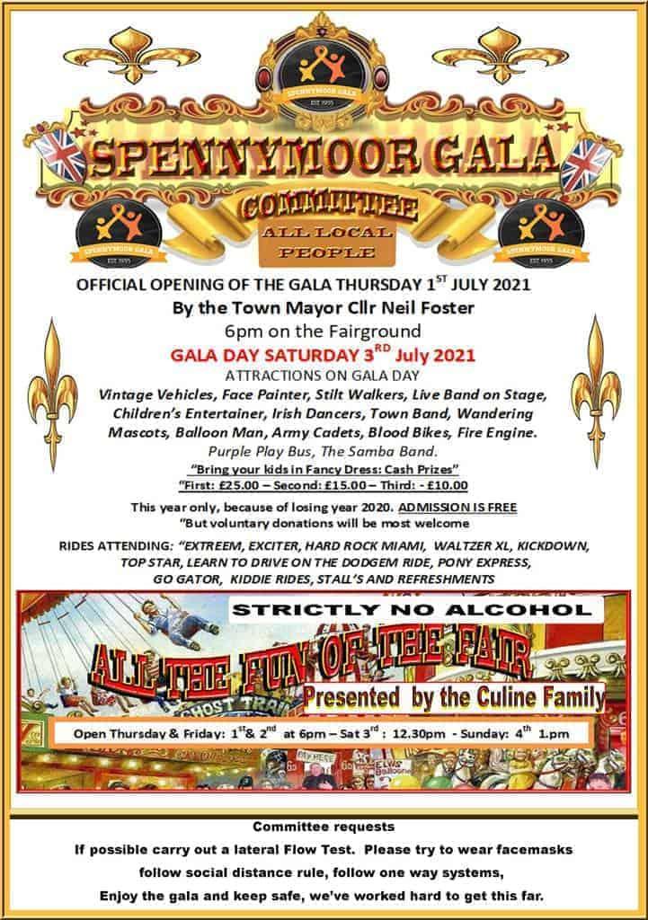 Spennymoor Gala Poster