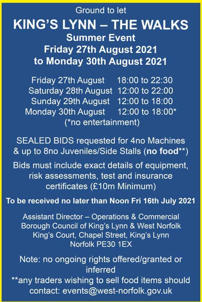 King's Lynn - August 2021